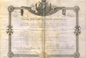 Les Archives de la Légion d'honneur (1) – Historique etconservation