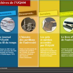 Portrait – Service des archives et de gestion des documents de l'Université du Québec àMontréal