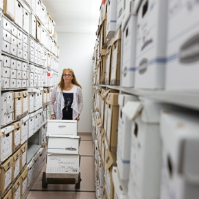Vie d'archiviste : Marie-ClaudeMailly