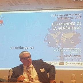 Compte-Rendu du Colloque international «Les Mondes de lagénéalogie»