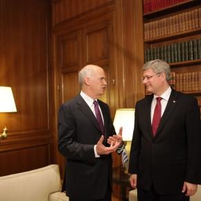 Le fonds d'un premier ministre canadien à l'ère dunumérique