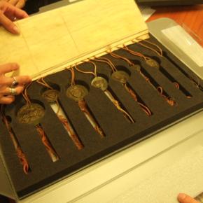 La conservation des sceaux : techniques, difficultés etréussites